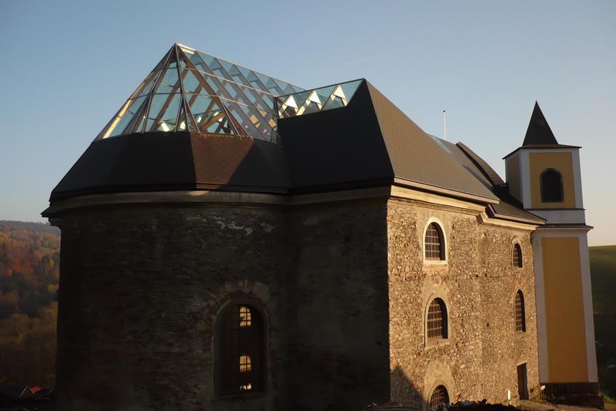 Orlické hory - kostel Neratov
